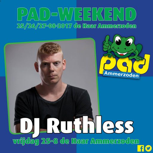 Dj Ruthless - PAD Weekend 2017