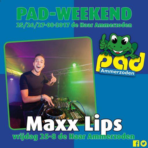 Maxx Lips - PAD Weekend 2017