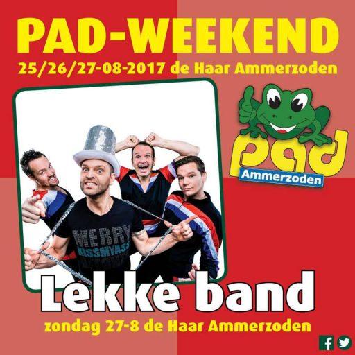 Lekke Band - PAD Weekend 2017 - Stichting PAD