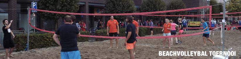 Beacjvolleybal toernooi - PAD Weekend 2016